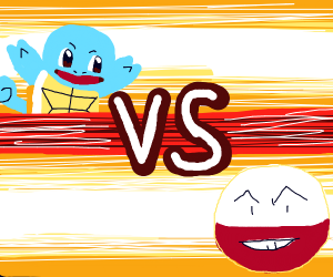 Squirtle vs Electrode
