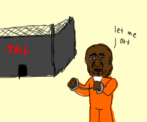 bald man wants out of prison