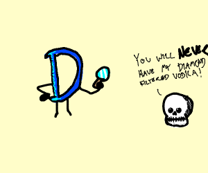 drawception looking for the crystal skull!