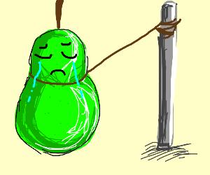 Enslaved pear