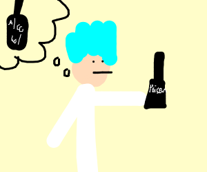 Rick mistakes poison for alcohol
