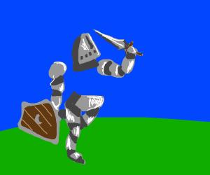 chestless knight