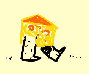 Walking cheese
