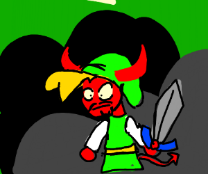 Link is Satan