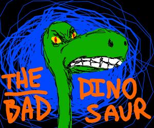 dinosaur growling
