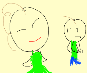 Baldi as a woman