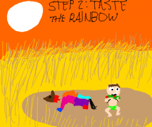 Step 1: Discover a Rainbow Hyena species