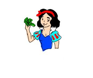 Snow White makin' that Disney $$$