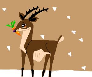 Triangular reindeer / moose / elk