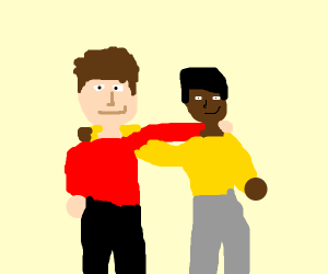 Interracial friends