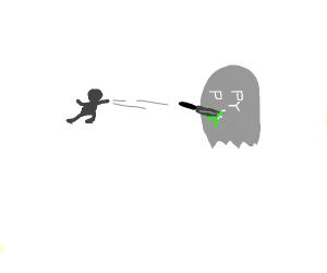 Man murders ghost.