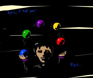 EPIC juggling tricks!