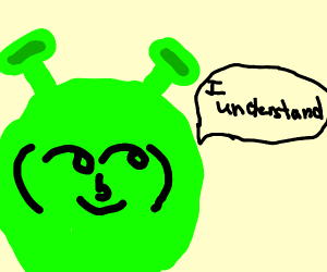 Shrek with Lenny face understands the joke