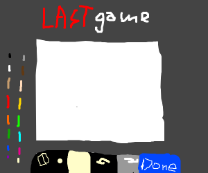 my final game of drawception