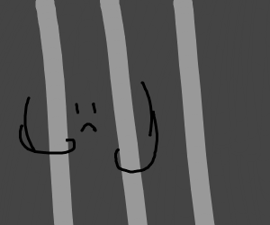 parentheses person in jail :(