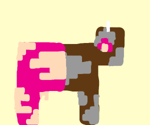 minecraft cow? (or pig)??