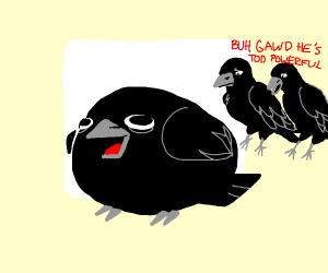 thicc crow