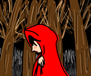 Anime Red Riding Hood