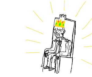 bony king