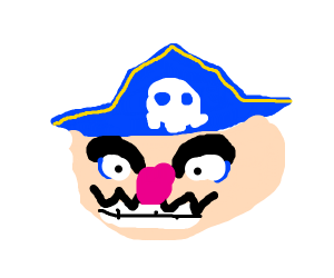 Wario is a pirate!
