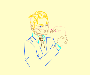 yoshikage kira eating a cookie