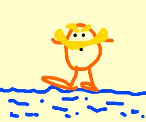 The Lorax walks on water
