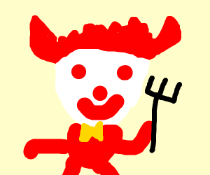 Demonic Ronald McDonald