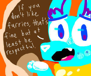 furries are gross lol