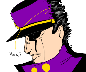 Jotaro's Hat that makes no sense