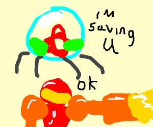 Metroid Saves Samus