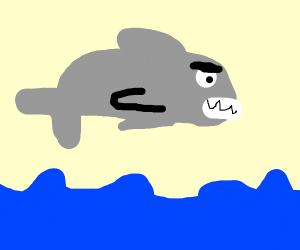 Scary Swordfish - Drawception