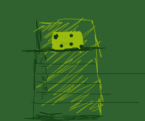 Spongebob time card