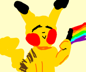 Pikachu is gay
