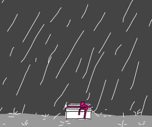 Present in the rain