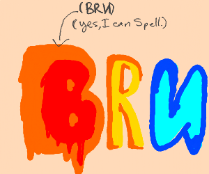 BR backwards N