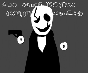 W. D. Gaster will shoot you