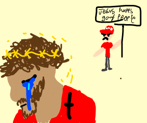 Jesus upset with GOP using his name for hate