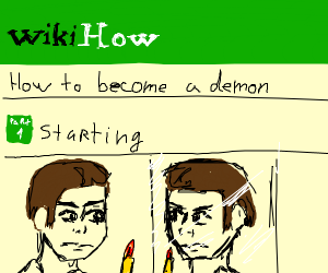 Wikihow to become a demon