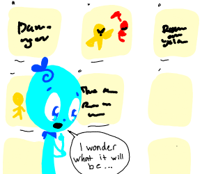 Last Panel Is My Profile Picture
