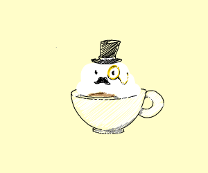 Clouds in my Coffee (with Monocle)