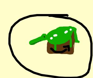 Alligator Box Cover