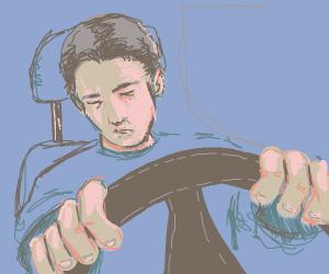 I can drive a car in my sleep