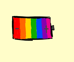 Rainbow Battery