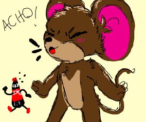 Sick Mouse - Drawception