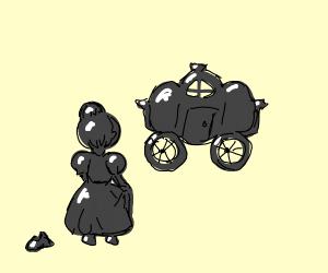 Cinderella made of oil