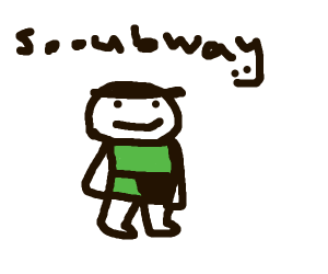 odd1sout in soobway outfit
