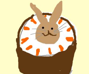 Cream pie rabbit