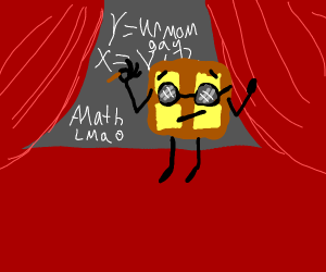 Waffle teaching math