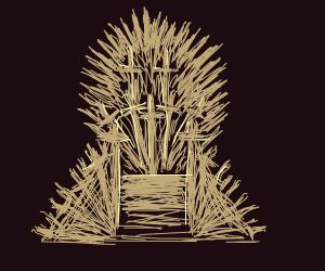 GOT throne of swords