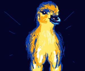Buff leg duck